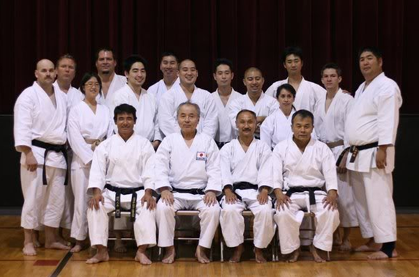 Eibu Kan Goju Ryu Black Belt Students